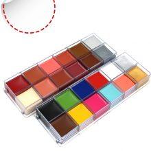 12 Colors Oil Paints for Body Art