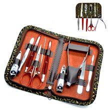 10-in-1 PU Leather Manicure Set