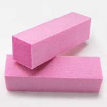Pink Manicure Nail Polishing Block