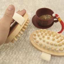Wooden Brush Anti-Cellulite Massager