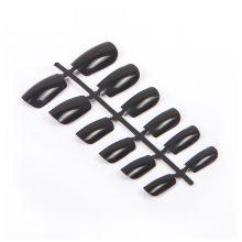 Set Black Full Acrylic Nail Tips